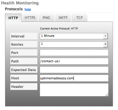 DynECT Traffic Management Health Monitoring