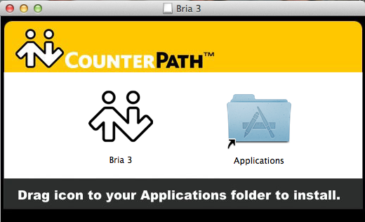 Installing the Bria 3 Softphone on my Mac