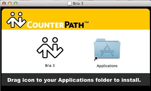 Installing the Bria 3 Softphone on my Mac