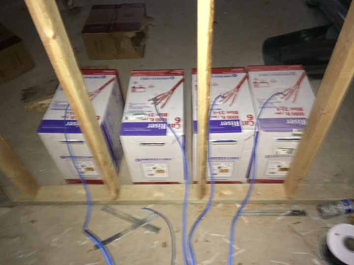 Pulling Cat 5 / Cat 6 Wiring - 9 Simple Tips to Make Your Network ...