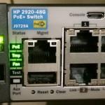 HP-2920-48G-PoE Procurve Console Port